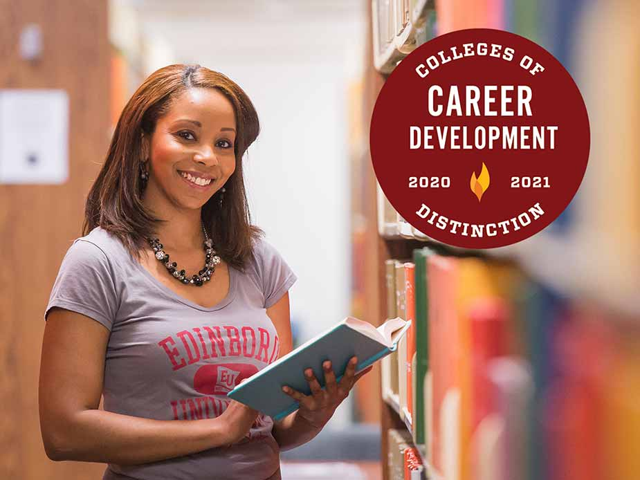 Edinboro University receives national career development distinction