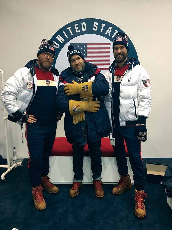 Team USA Olympic snowboarding team coaches