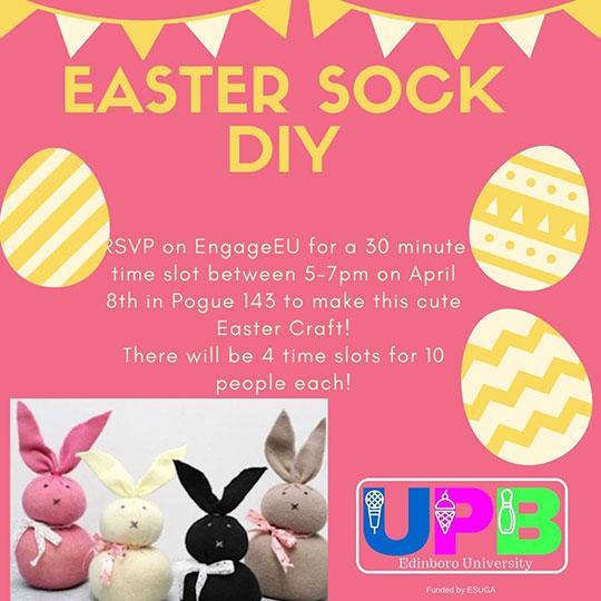 Easter Sock DIY